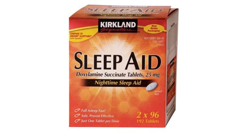 Kirkland Sleep Aid hỗ trợ cải thiện giấc ngủ