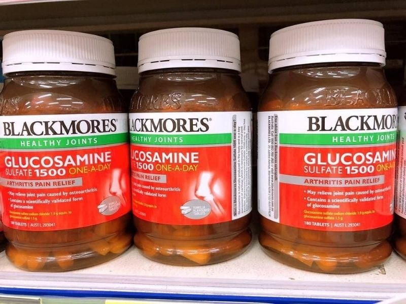 Sản phẩm viên uống Blackmores Glucosamine chắc khỏe xương khớp