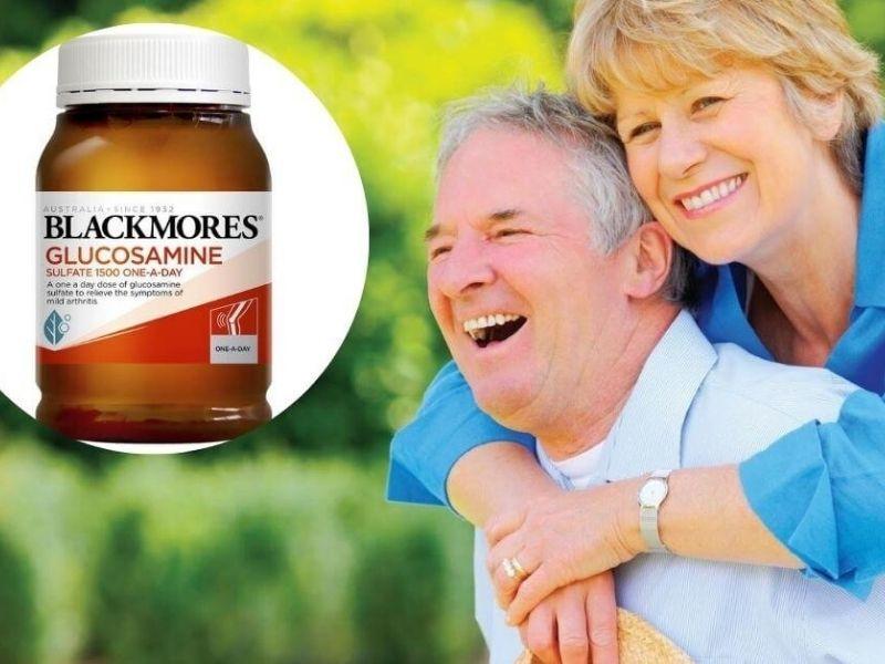 Viên uống Blackmores Glucosamine giúp chắc khỏe hệ xương khớp, tăng cường sức khỏe