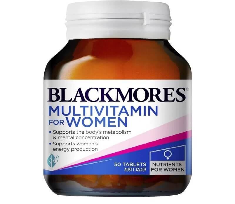 Viên uống vitamin tổng hợp cho phụ nữ Blackmores Multivitamin For Women có tác dụng gì?