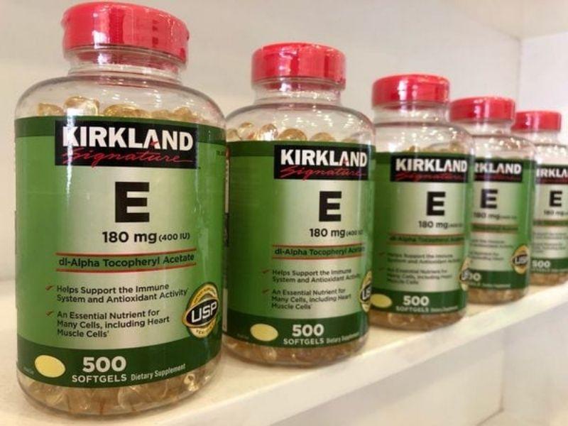 Viên uống Kirkland Vitamin E