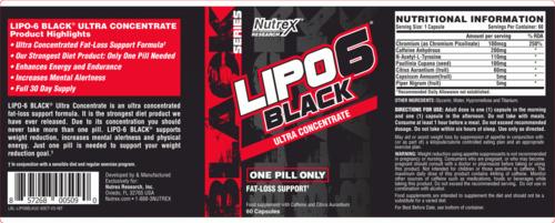 Lipo-black-6-bang-thanh-phan