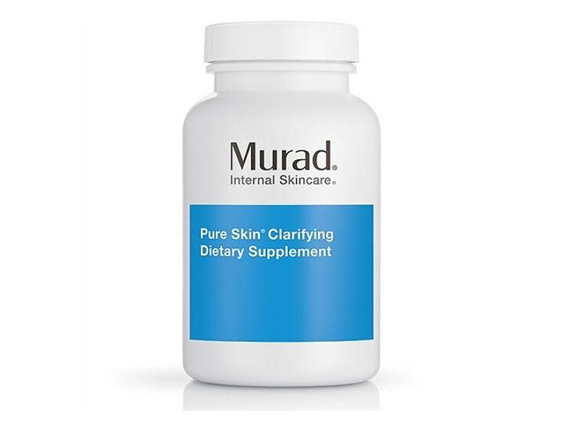 Hình ảnh viên uống trị mụn murad pure skin clarifying dietary supplement