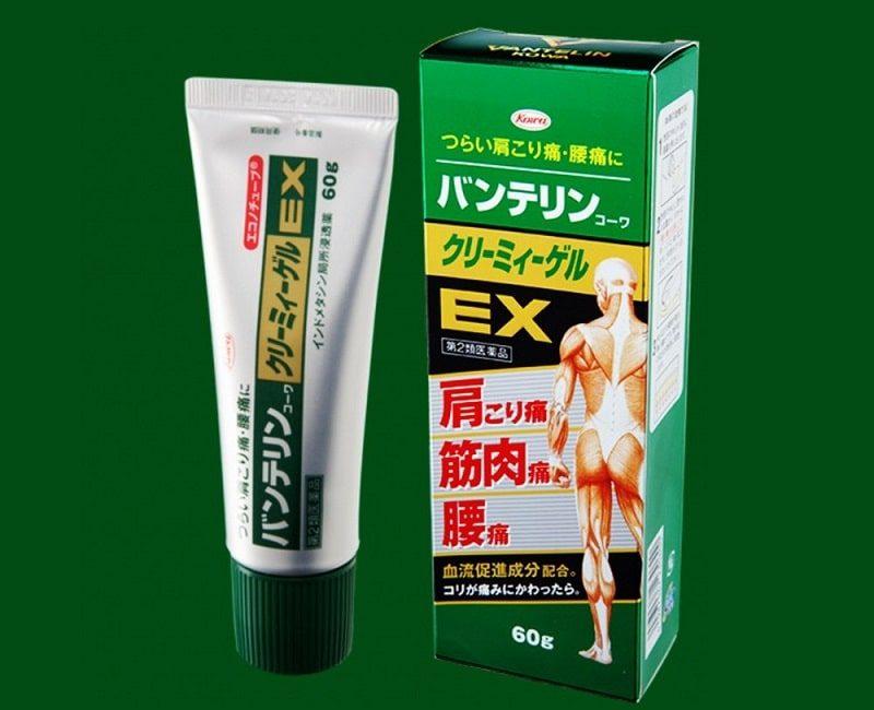 Vantelin Kowa Creamy Gel EX là sản phẩm được bào chế dưới dạng gel bôi ngoài da