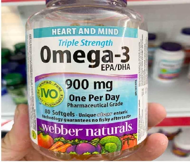 Dầu cá Webber Naturals Triple Strength Omega-3 có tác dụng như thế nào đối với sức khỏe?