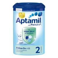 Sữa Aptamil Anh số 2 dành cho trẻ từ 6-12 tháng