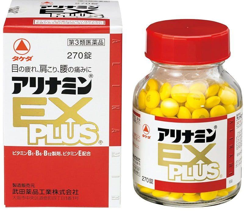 Arinamin Ex Plus là thực phẩm chức năng có thể hỗ trợ giảm đau vai gáy, tê bì chân tay hiệu quả