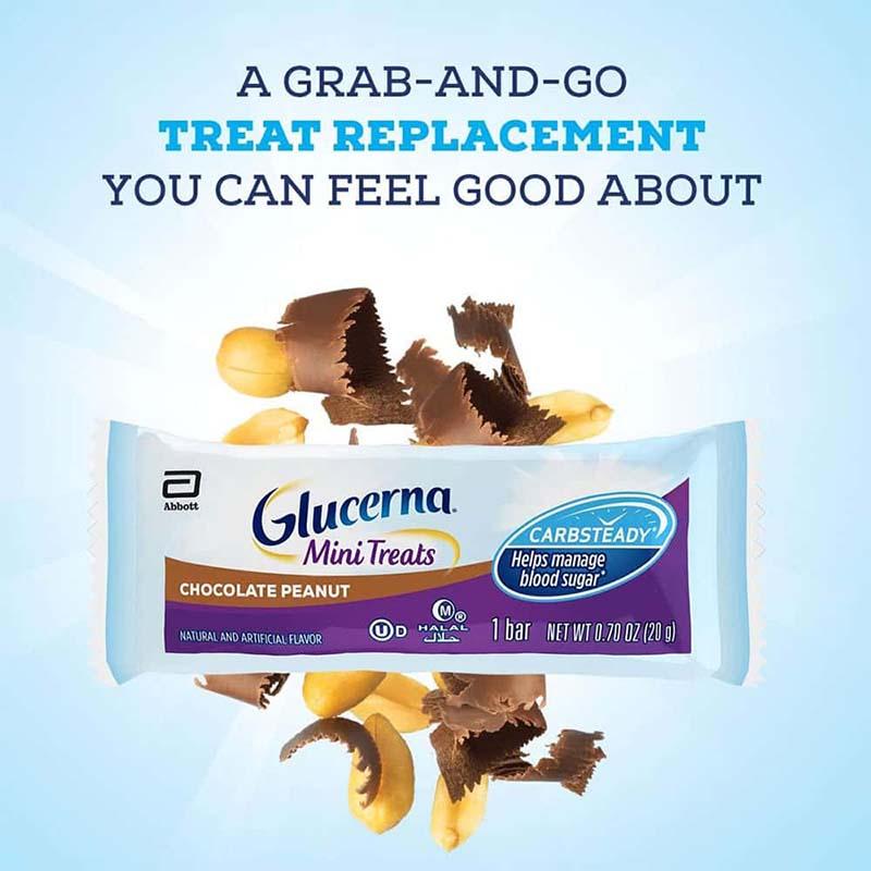 Bánh Glucerna là sản phẩm được sản xuất dành riêng cho người tiểu đường và được coi là món ăn vặt vô cùng có lợi cho sức khỏe