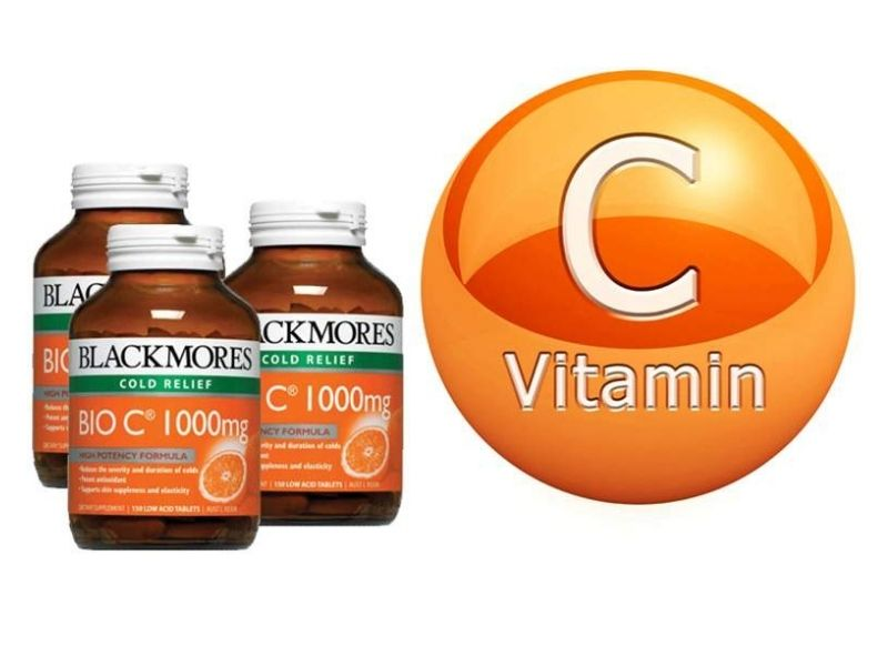 Viên uống bổ sung vitamin C Blackmores Ginkgoforte
