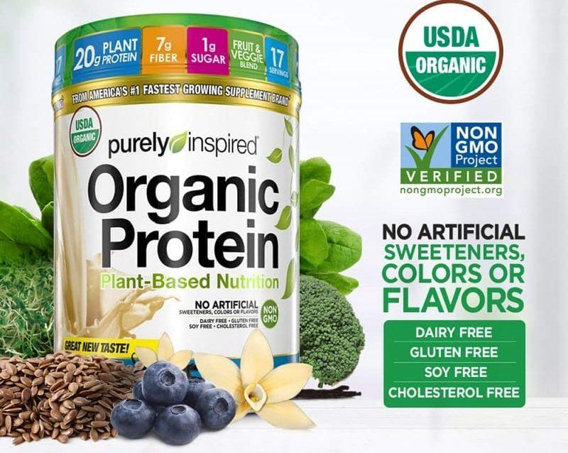 Bột Protein hữu cơ Purely Inspired Organic Protein French Vanilla là dòng bột đạm hữu cơ được sản xuất và phân phối tại thị trường Mỹ