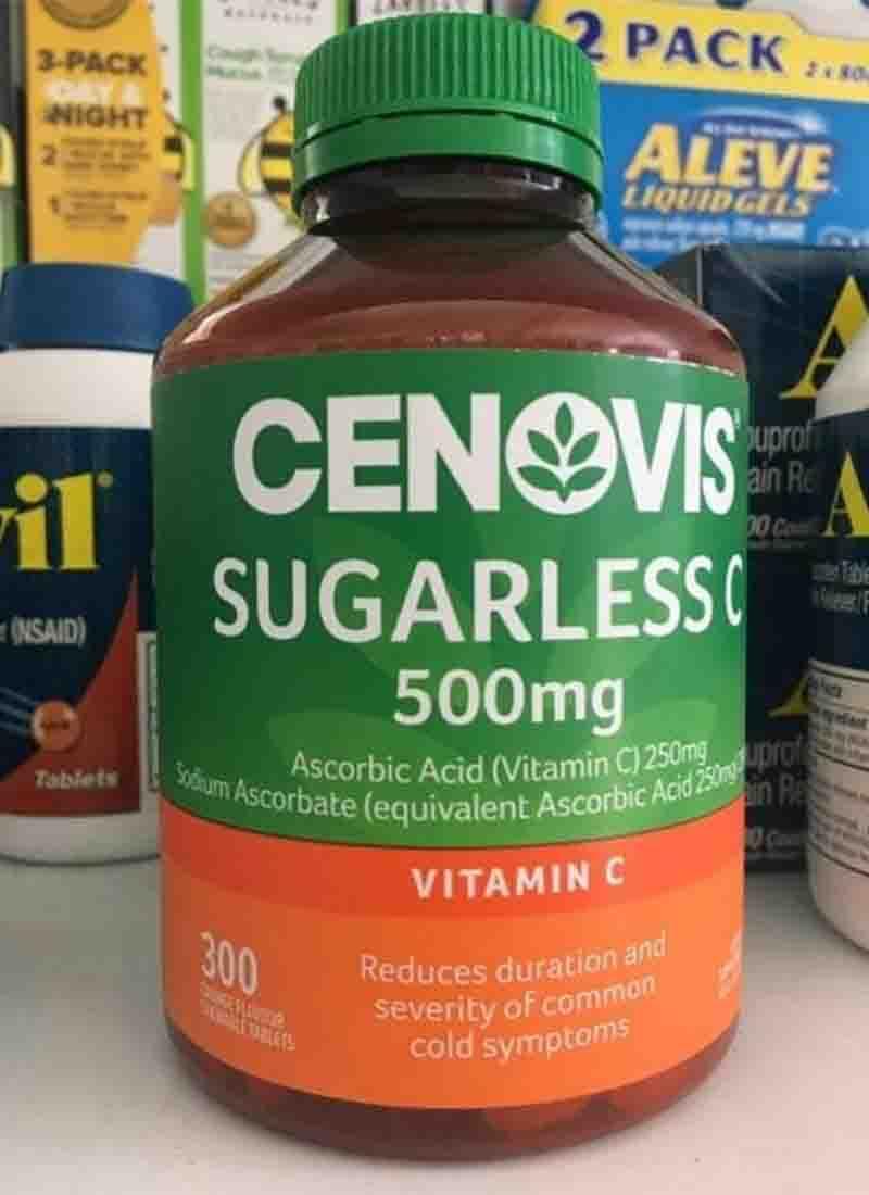 Cenovis Vitamin C là một loại vitamin tan trong nước, có tên quốc tế là Acid Ascorbic