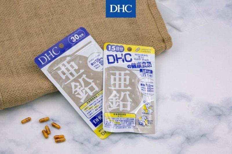 DHC Zinc là viên uống bổ sung kẽm cung cấp thành phần khoáng chất thiết yếu cho cơ thể