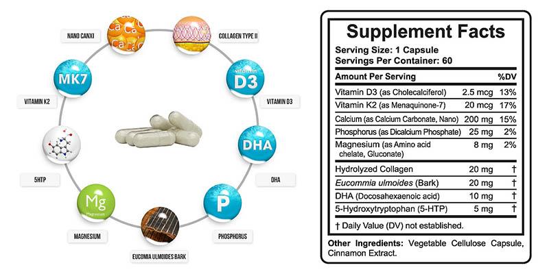 Dưỡng chất có trong sản phẩm Doctor Plus