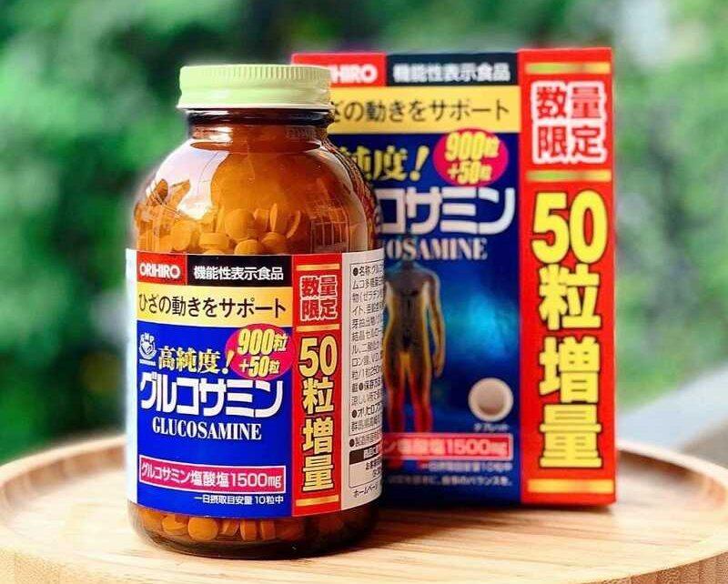 Glucosamine Orihiro 1500mg được sản xuất tại Nhật Bản, là giải pháp tốt cho sức khỏe xương khớp