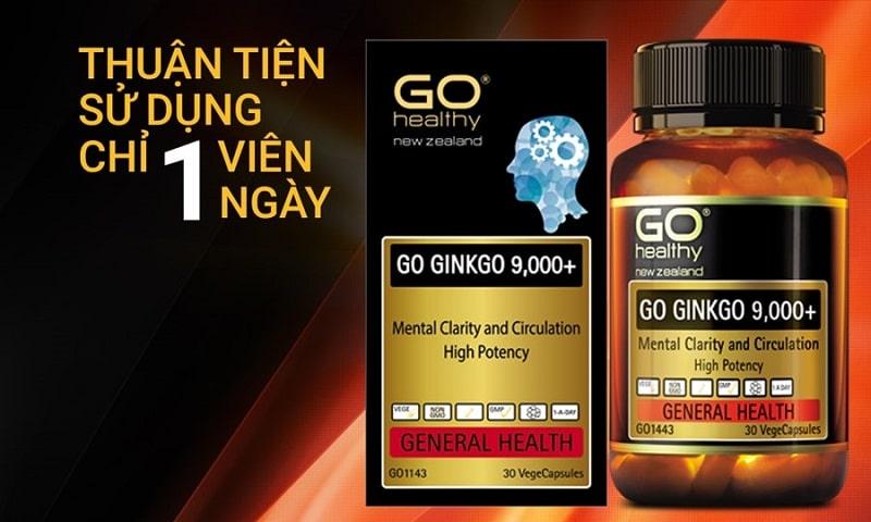 Sản phẩm viên uống Go Ginkgo 9000