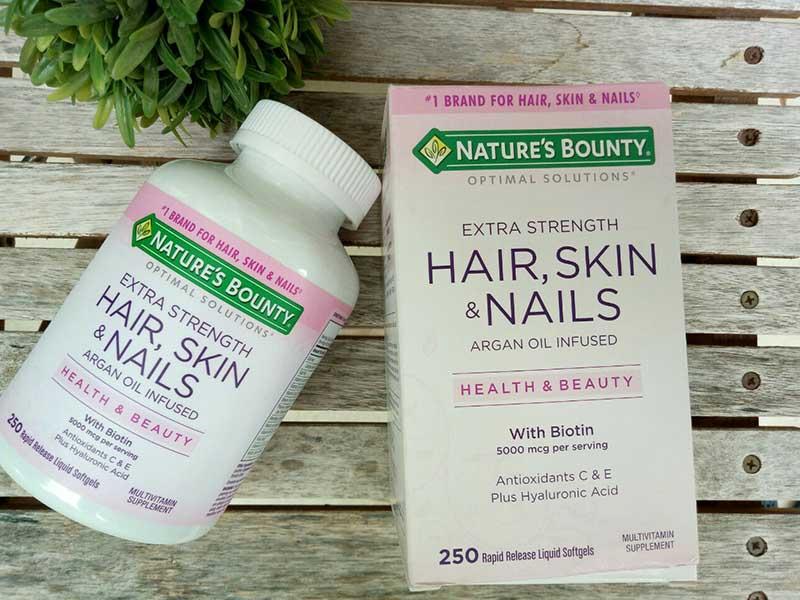 Hair Skin Nail Nature's Bounty là sản phẩm của thương hiệu nổi tiếng của Mỹ