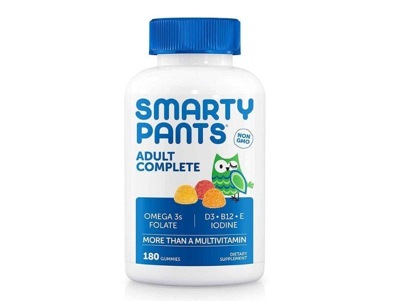 Smarty pants adult complete là loại vitamin tổng hợp cho người lớn được bào chế dưới dạng kẹo viên.