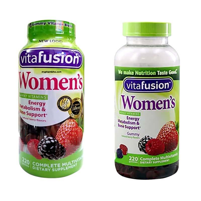 Vitafusion là dạng kẹo dẻo hương vị trái cây tự nhiên thơm ngon, dễ dàng sử dụng mỗi ngày