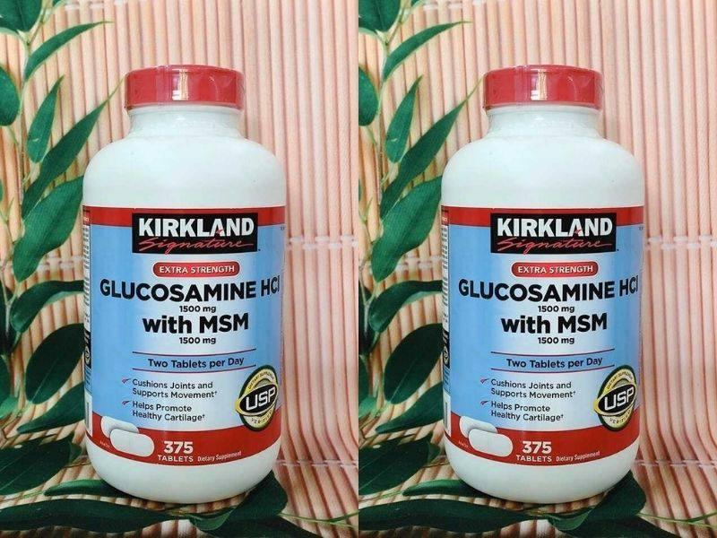 Viên uống Kirkland Glucosamine HCL 1500mg của Mỹ là sản phẩm được tin tưởng sử dụng
