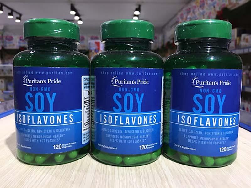 Thông tin chung về viên uống mầm đậu nành Soy Isoflavones