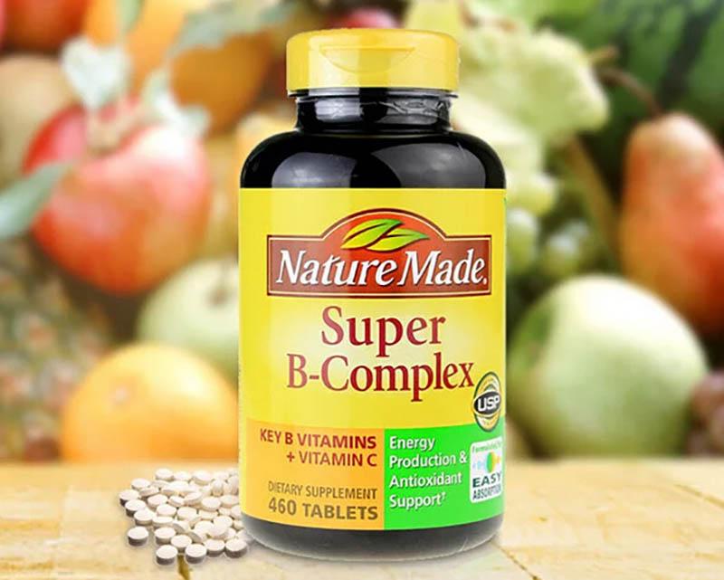 Thông tin sản phẩm Nature Made Super B-complex