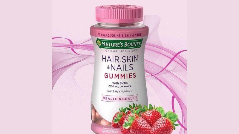 Thực phẩm chức năng chăm sóc móng, tóc và da Nature's Bounty Hair Skin and Nails