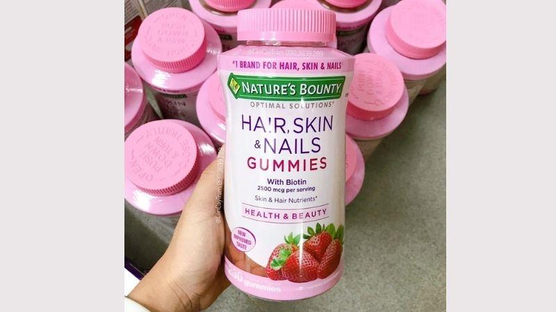Những ưu điểm nổi bật của Nature's Bounty Hair Skin and Nails