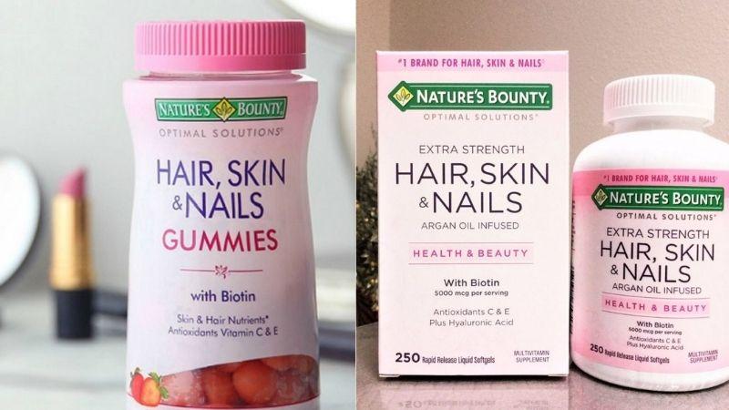 Các thông tin chi tiết về Nature's Bounty Hair Skin and Nails