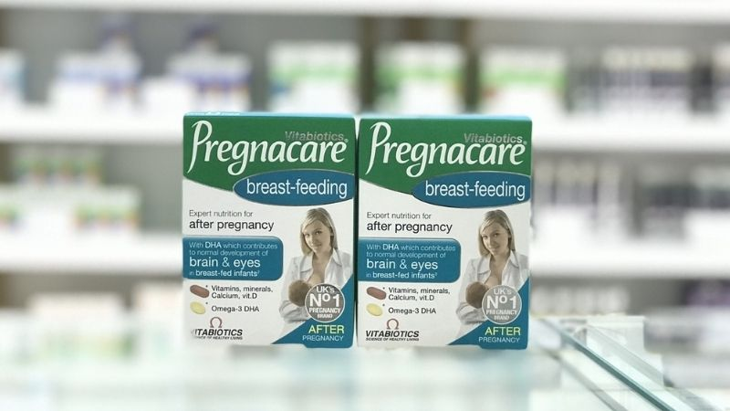Viên uống vitamin tổng hợp Pregnacare Breastfeeding