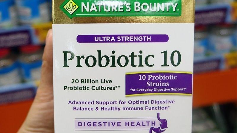Viên uống Probiotic 10 Nature's Bounty
