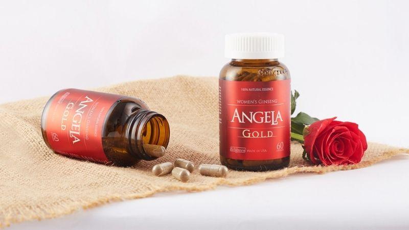 Viên uống sâm Angela Gold