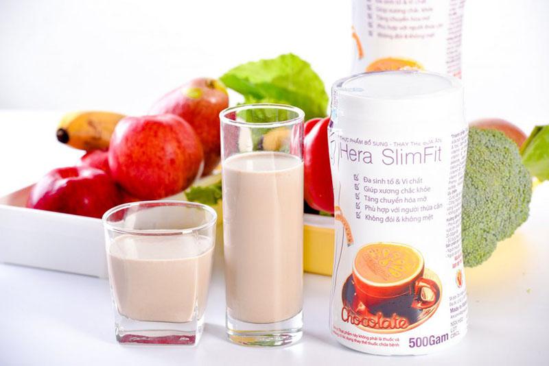 Sản phẩm có thể dung thay thế các bữa ăn nhờ việc cung cấp đầy đủ dinh dưỡng và năng lượng mỗi ngày