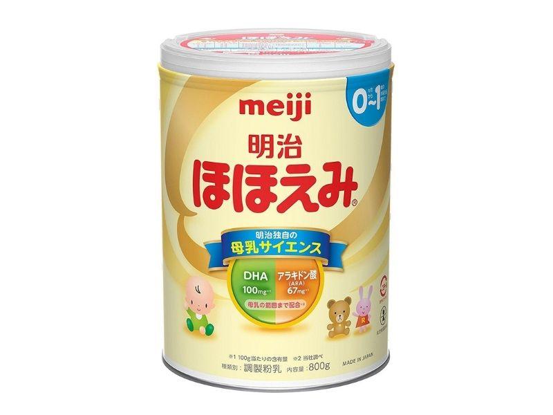 Sữa meiji được nhiều bà mẹ tin tưởng lựa chọn cho con em