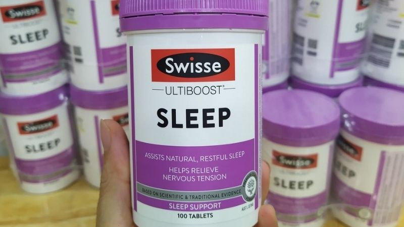 Viên uống hỗ trợ giấc ngủ Swisse Sleep của Úc