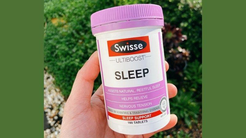 Cách sử dụng sản phẩm Swisse Sleep