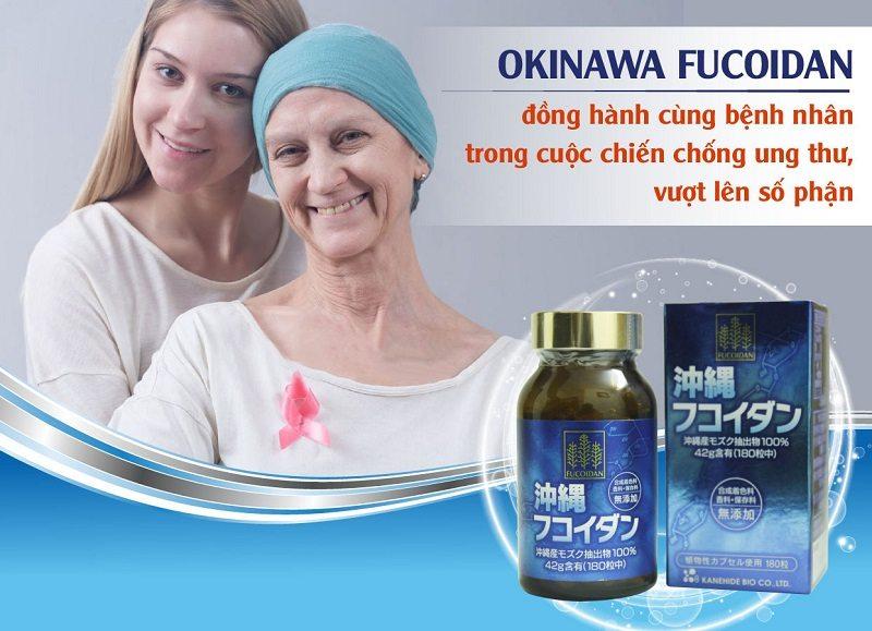 Viên uống hỗ trợ rất tốt cho những bệnh nhân bị ung thư