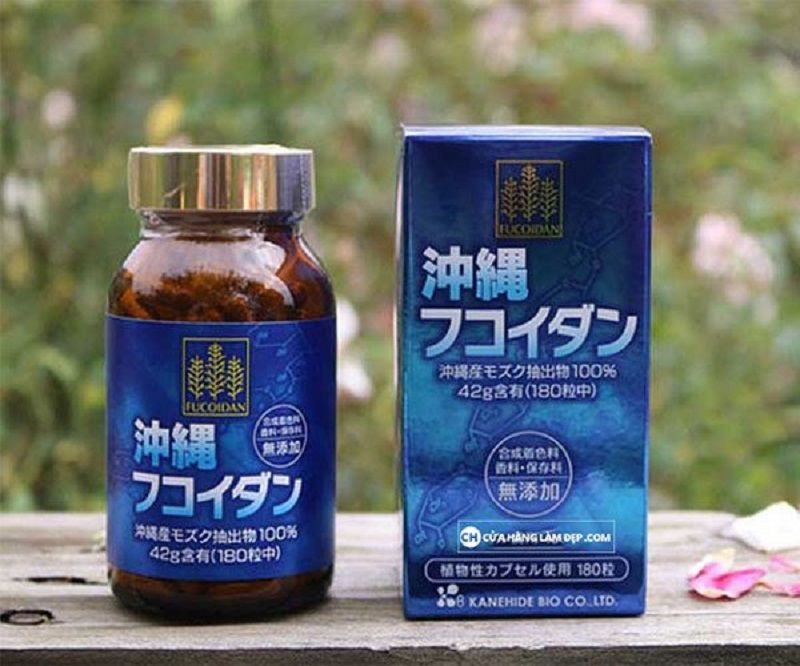 Viên uống Okinawa Fucoidan Kanehide Bio là sản phẩm nổi tiếng Nhật Bản