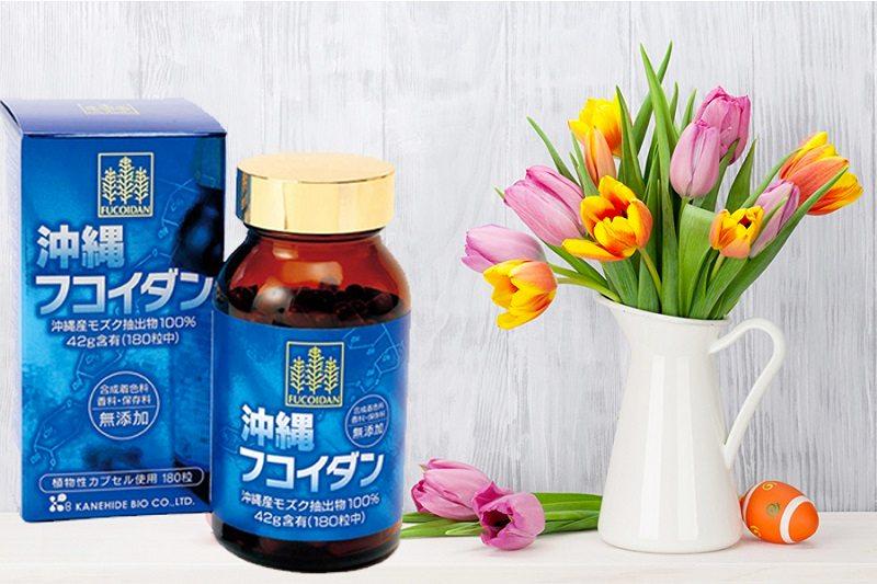 Viên uống Okinawa Fucoidan Kanehide Bio được Viện Quốc Gia Khoa Học Công Nghiệp và Công Nghệ Tokyo cấp bằng sáng chế.