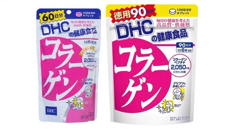 Viên uống Collagen DHC của Nhật