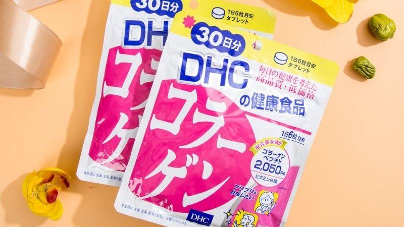 Công dụng tuyệt vời của DHC Collagen