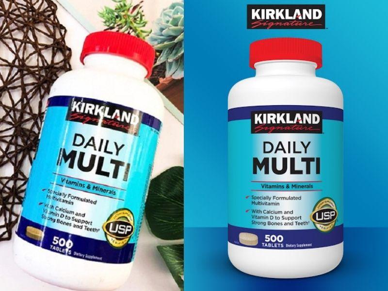 Viên uống hàng ngày Kirkland 500 viên