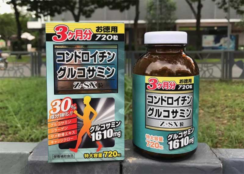 Thông tin chung về viên uống Jpanwell Glucosamine Chondroitin Z-SX