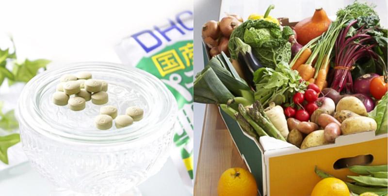 Viên uống DHC Perfect Vegetable có nguồn gốc xuất xứ rõ ràng