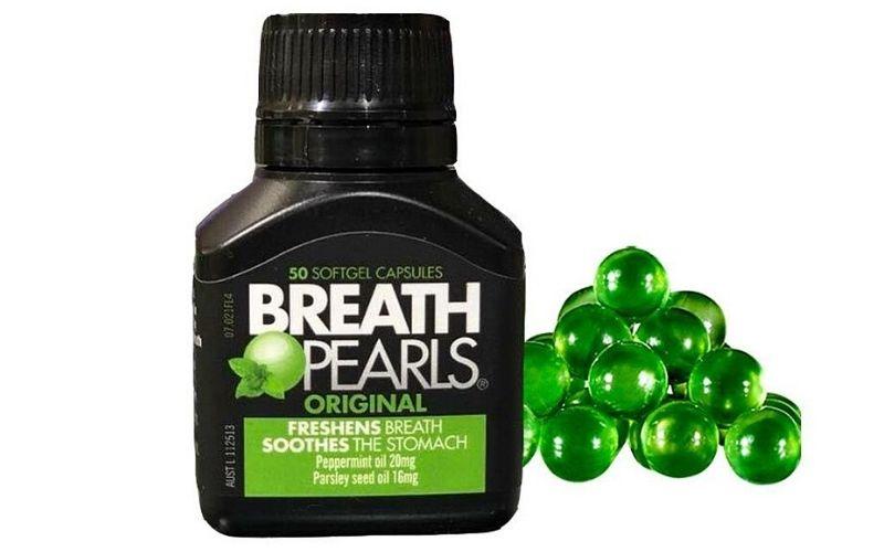 Công dụng chính của viên uống thơm miệng Breath Pearls là hỗ trợ cải thiện vấn đề hôi miệng