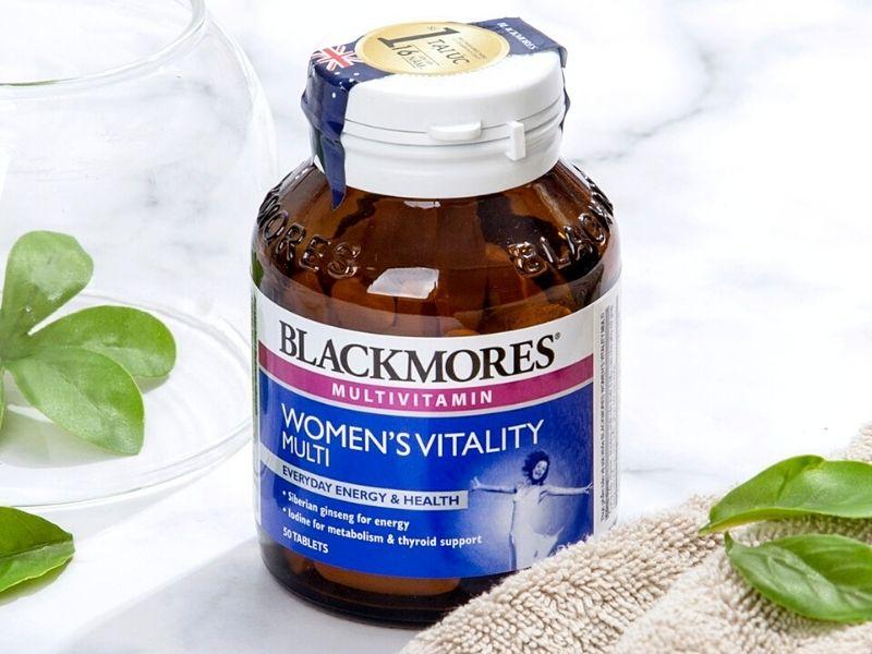 Mỗi ngày chỉ cần dùng 1 viên Blackmores Multivitamin For Women để mang lại sức khỏe và sắc đẹp cho chị em phụ nữ