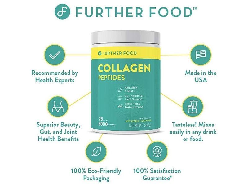 Bột Collagen giúp làm da, tóc và móng trở nên săn chắc, mềm mịn hơn