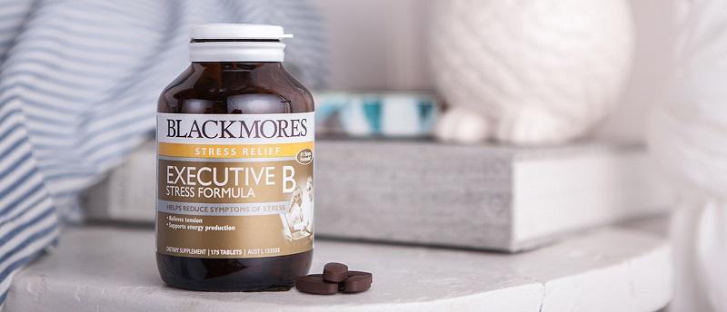 Blackmores Executive B Stress Formula ra đời như một giải pháp giúp tinh thần thoải mái, giúp người dùng bình tĩnh và giảm stress