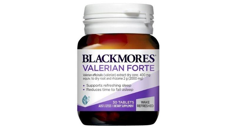 Blackmores Valerian Forte là viên uống hỗ trợ giúp người dùng dễ dàng đi vào giấc ngủ