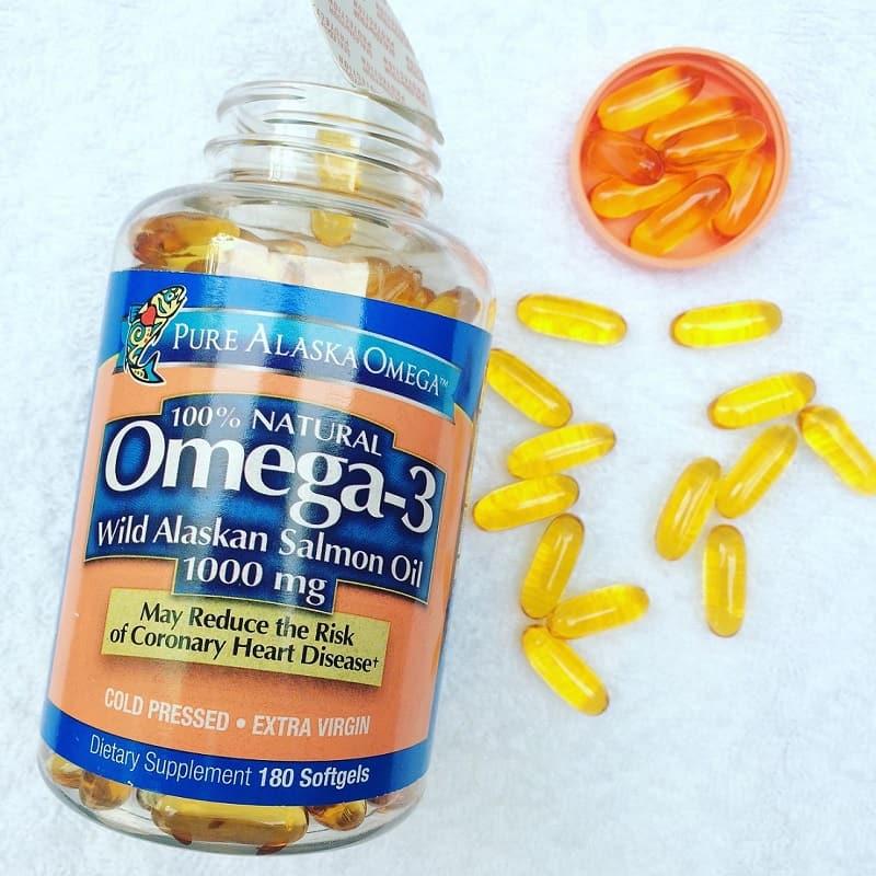 Sản phẩm dầu cá Alaska Omega 3 là sản phẩm chiết xuất Omega 3 từ cá hồi của vùng biển Alaska