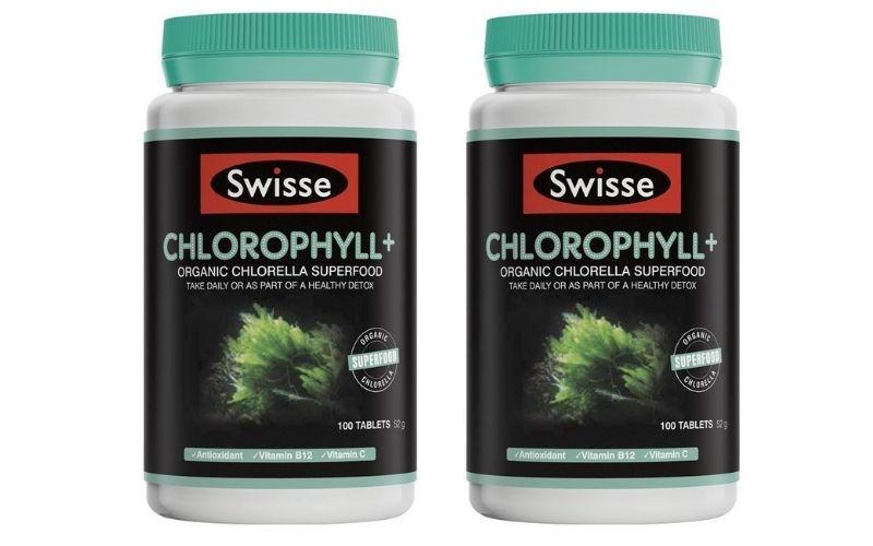 Diệp lục chlorophyll cực kỳ tốt cho sức khỏe